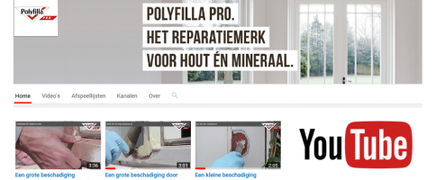 Polyfilla Pro - Youtube